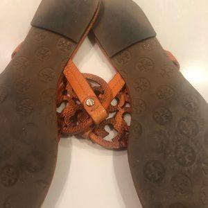 Tory Burch Shoes - Tory Burch Miller Sandals Orange 🍊